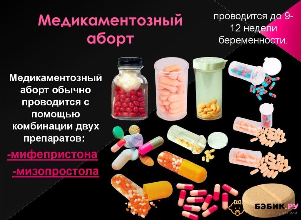сравнение медикаментозного и вакуумного аборта